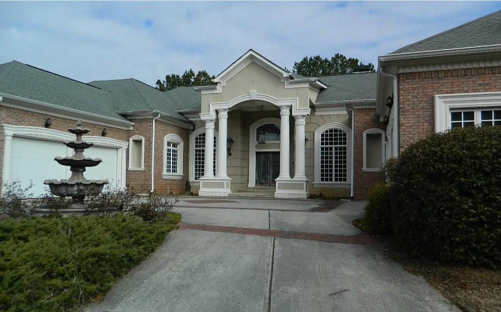Allen Iverson's former Georgia home