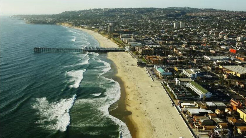 Pacific Beach has seen a large increase in short-term vacation rentals over the past decade