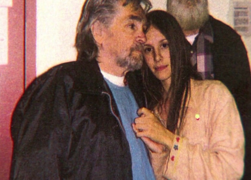 Charles Manson has not married Afton Elaine Burton, 27, who as a teenager moved to California to be near him and has visited him for years.