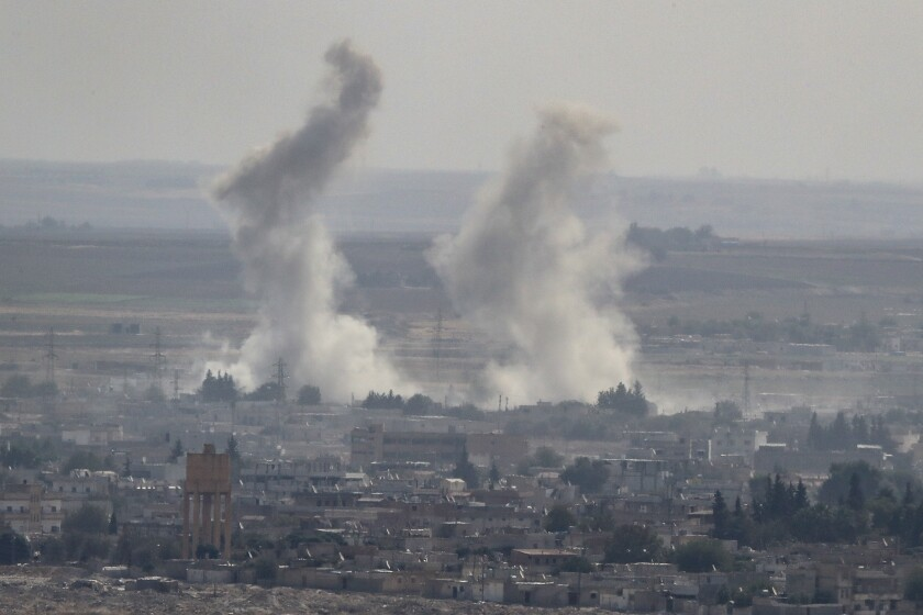 Newsletter: Is there possibly, maybe, a Trump strategy on Syria?