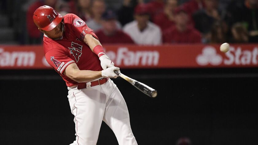 Why Angels superstar Mike Trout almost never swings at a 3-0