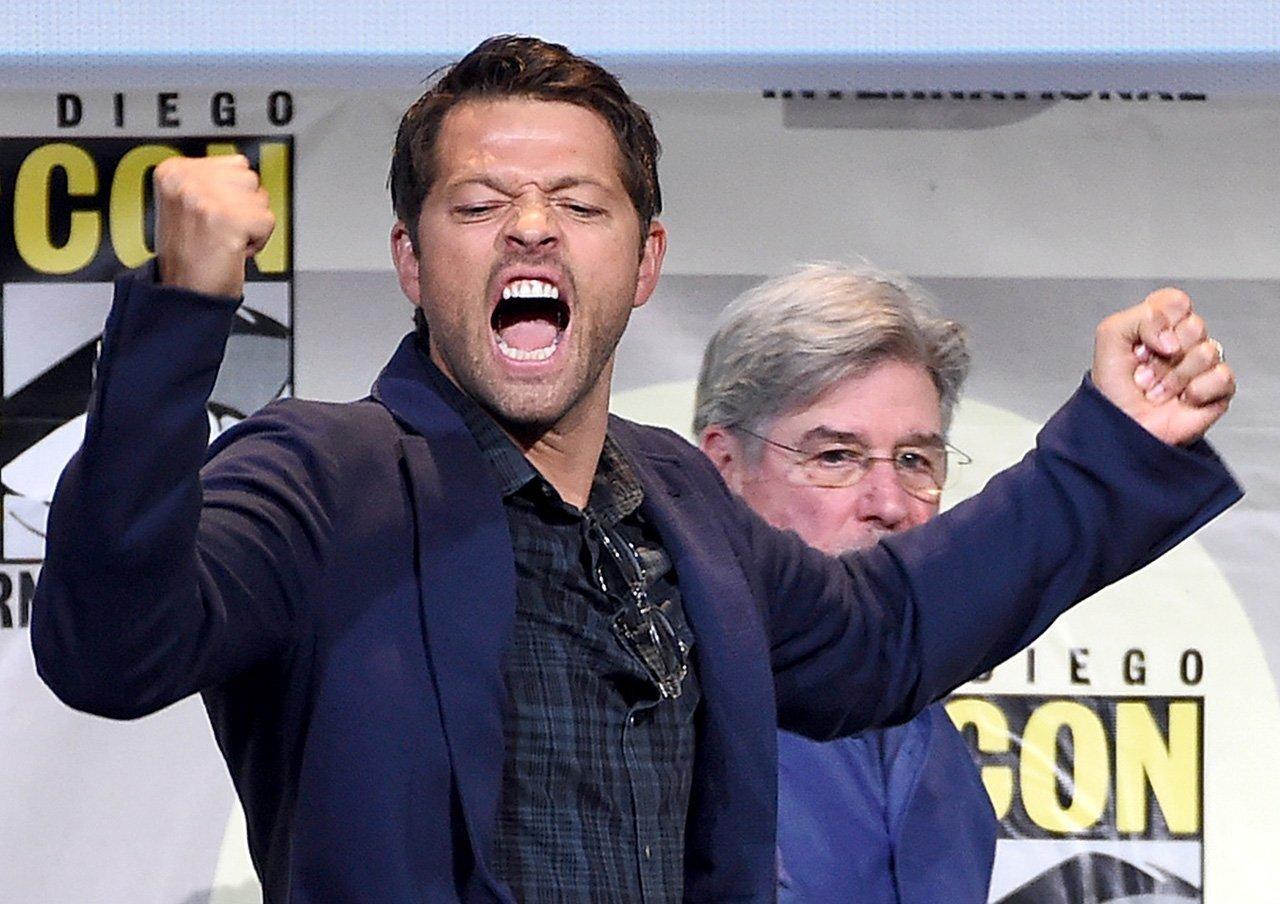 """""""Supernatural"""" panel at Comic-Con 2016"""