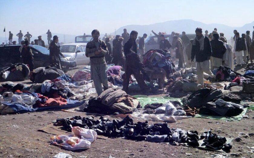 Pakistan market bombing