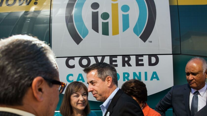 LOS ANGELES, CALIF. -- SUNDAY, NOVEMBER 1, 2015: Covered California executive director Peter V. Lee,