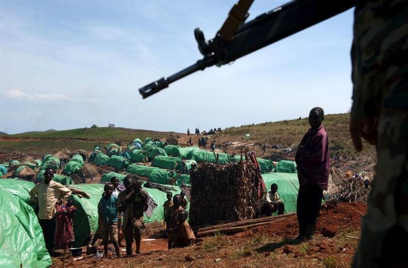 """La ONU dijo hoy que """"al menos tres menores"""" de edad han acusado de abuso sexual a """"cascos azules"""" mauritanos en el sur de la República Centroafricana y que, tras una investigación preliminar, ha sido confinado un sospechoso. EFE/Archivo"""