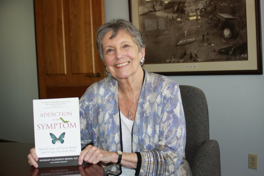 """Rosemary Ellsworth Brown is the author of """"Addiction is the Symptom"""""""