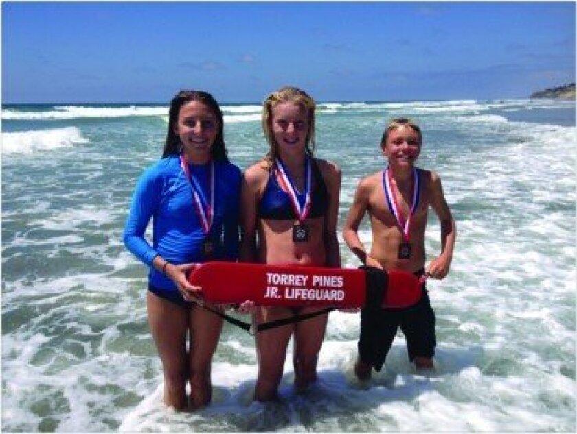 (L-R): Karina Hankee, Hanna Erbe-Smith and Charlie Cole. Photo/Bo Smitham