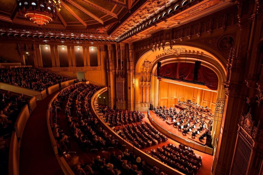 Copley Symphony Hall (Courtesy photo from San Diego Symphony)