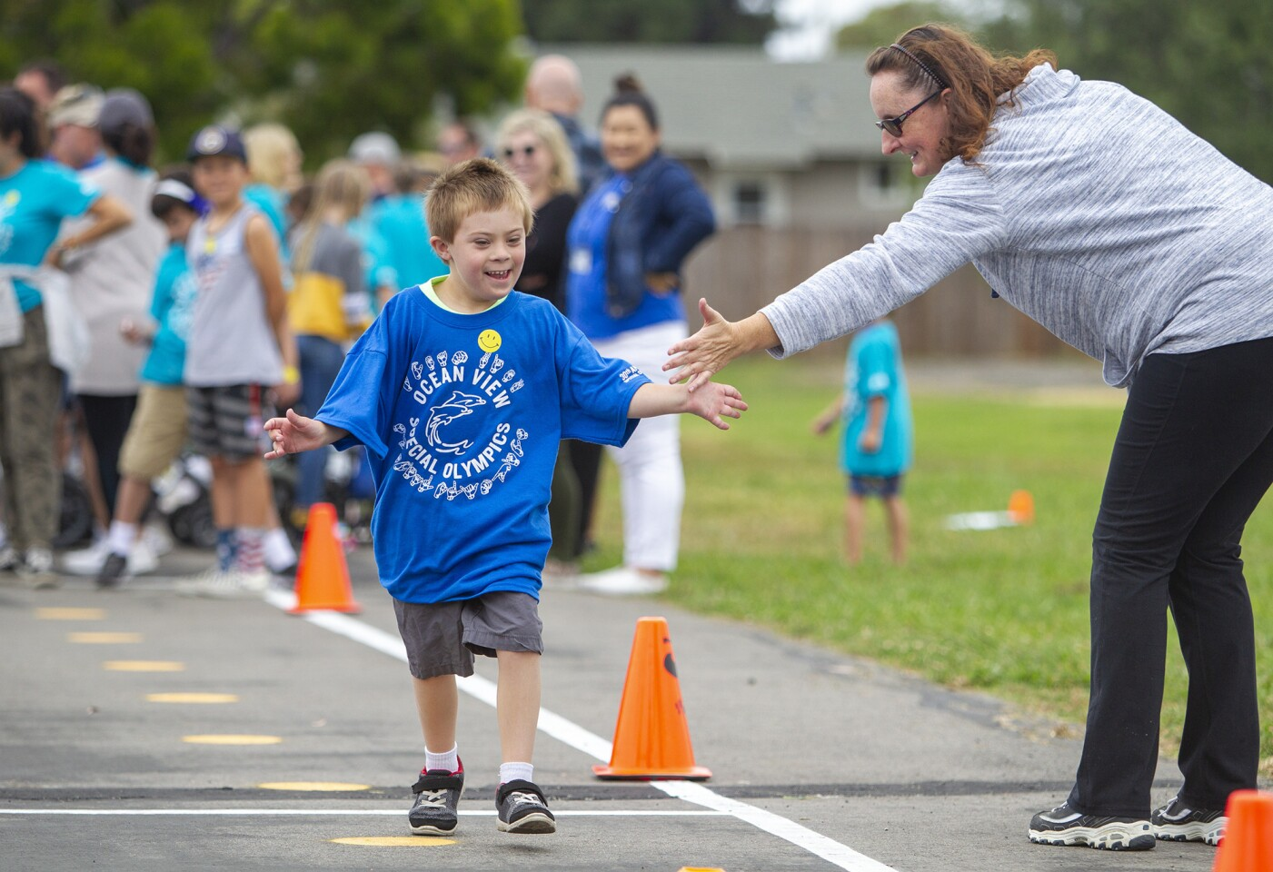 Photo Gallery: Ocean View School District's 30th Annual Special Olympics at  Village View Elementary.