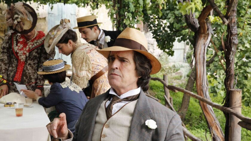 """Rupert Everett as Oscar Wilde in a scene from the movie """"The Happy Prince."""""""