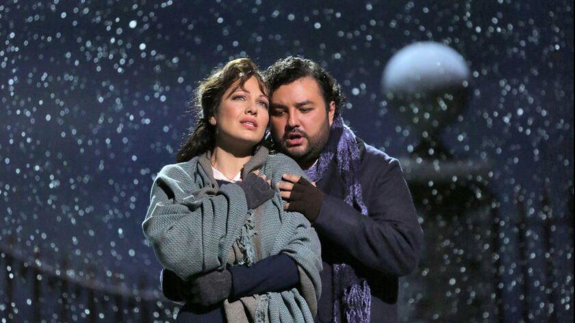 """A scene from LA Opera's """"La Boheme.'"""