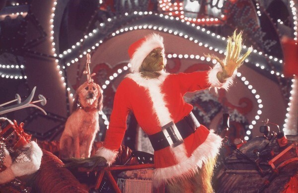 """By Nate Jackson, Times staff writer For some, the diminishing role of Christmas films over the past decade has been tough to watch. Or, in most cases, not watch. At the end of 2010, it appeared Hollywood was no longer eager to spin classic Noel narratives in new directions. However, this year, Hollywood appeared to get back in the holiday spirit with a couple of high-spirited Christmas offerings. Each year over the past decade has seen at least one Christmas-themed film that somehow set the season's tone -- either through its success or failure at the box office. Though some Dr. Seuss purists had their reservations about a slick Hollywood rendition of """"How the Grinch Stole Christmas,"""" many moviegoers were pleasantly surprised by the fantastical slapstick and storytelling in Ron Howard's version starring Jim Carrey as the pea-green creature who hates Christmas. Piling on the big-budget gloss and a sturdy ensemble of Whos including Molly Shannon and Jeffrey Tambor, the film garnered more than $260 million in the U.S. and Canada and more than $345 million worldwide."""