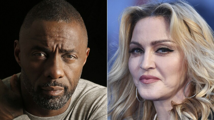 Nothing to see here: Idris Elba says he's not sleeping with Madonna.