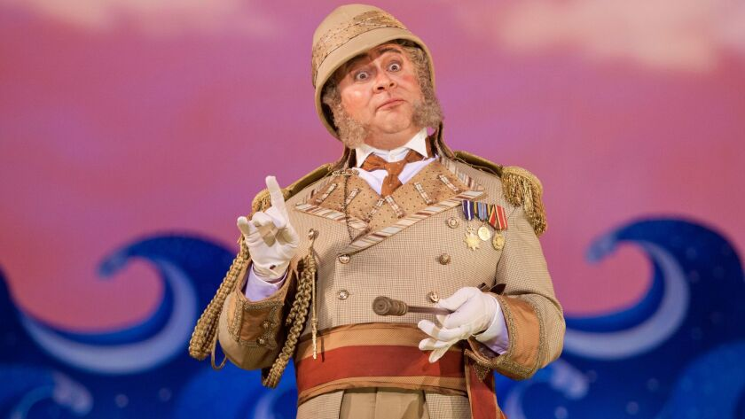 """Bass-baritone Patrick Carfizzi is Major-General Stanley in San Diego Opera's """"The Pirates of Penzanc"""