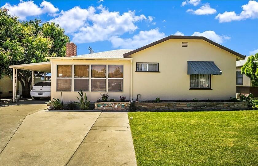 A 1940s cottage in Anaheim