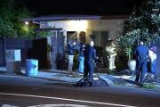Driver flees after crashing into bedroom with residents inside