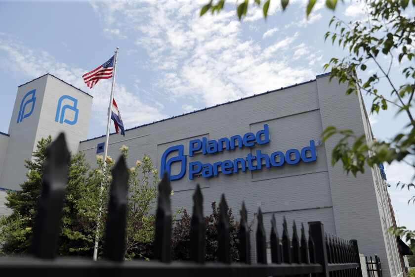 A Planned Parenthood clinic in St. Louis