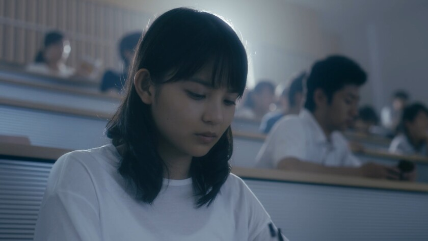 "Maria Yamaguchi in a scene from ""Philosopher King."" Credit: Independent"