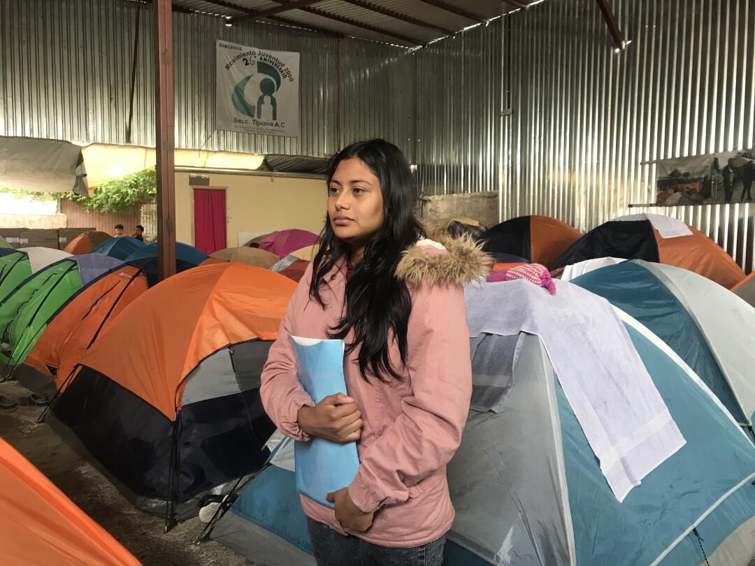 Seeking asylum in the U.S., Daniela Diaz instead found herself returned to Tijuana
