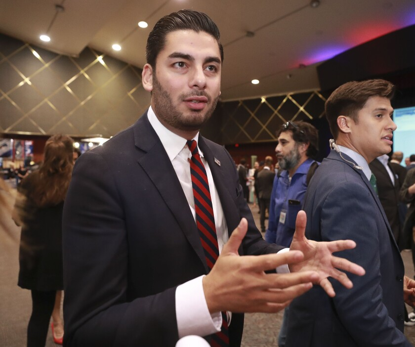 Ammar Campa-Najjar announced he is no longer planning to run for 79th Assembly District