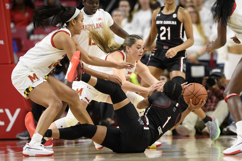 South Carolina Maryland Basketball