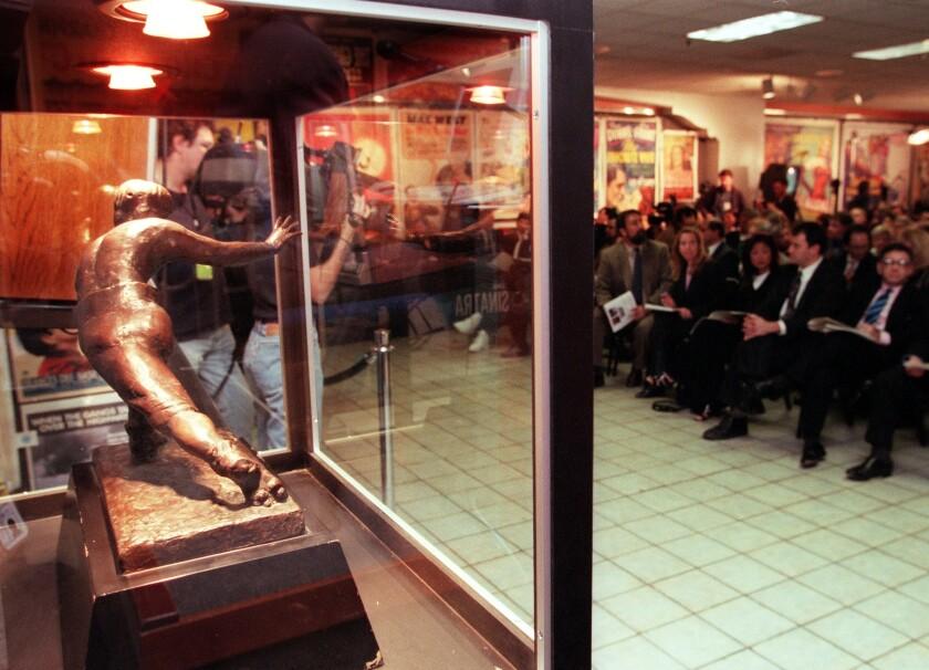 1999 O.J. Simpson Heisman auction