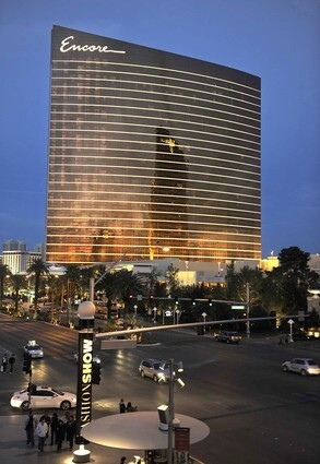 The new Encore hotel in Las Vegas