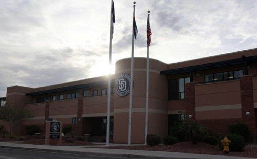 The Peoria Sports Complex in Arizona.