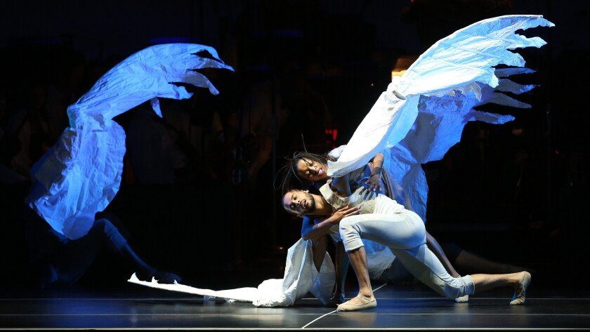"""Letting the visuals take flight: """"Firebird"""" at the Bowl."""