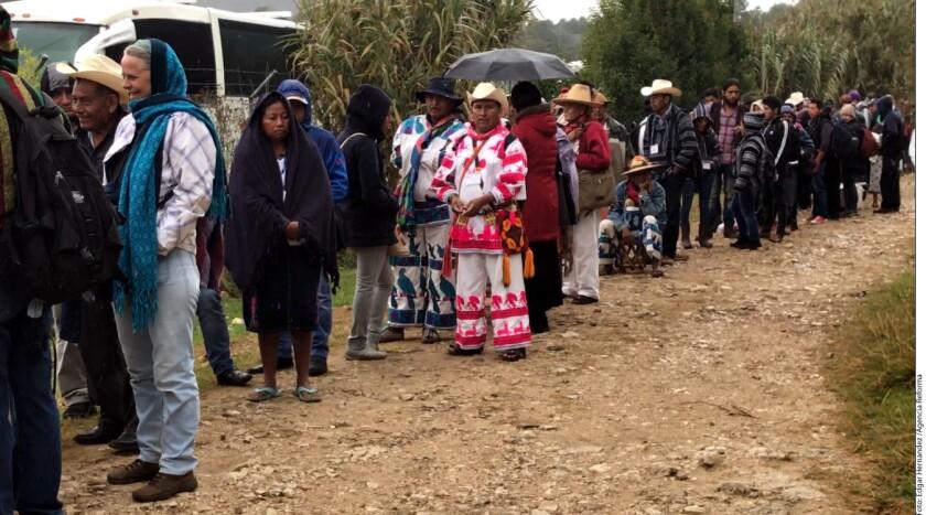 El Ejército Zapatista de Liberación Nacional (EZLN) y el Congreso Nacional Indígena (CNI) hicieron un mapeo de los conflictos que afectan a las comunidades indígenas del país, como el despojo de tierras, minería y crimen organizado.
