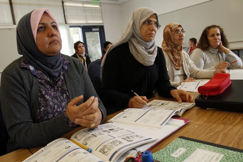 Iraqi immigrants