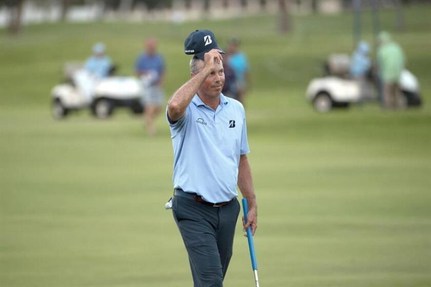 En la imagen el golfista estadounidense Matt Kuchar, de 40 años. EFE/Archivo