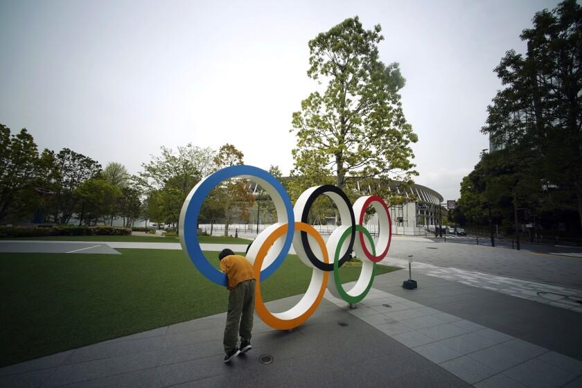 Olympics Tokyo Staff Member Virus