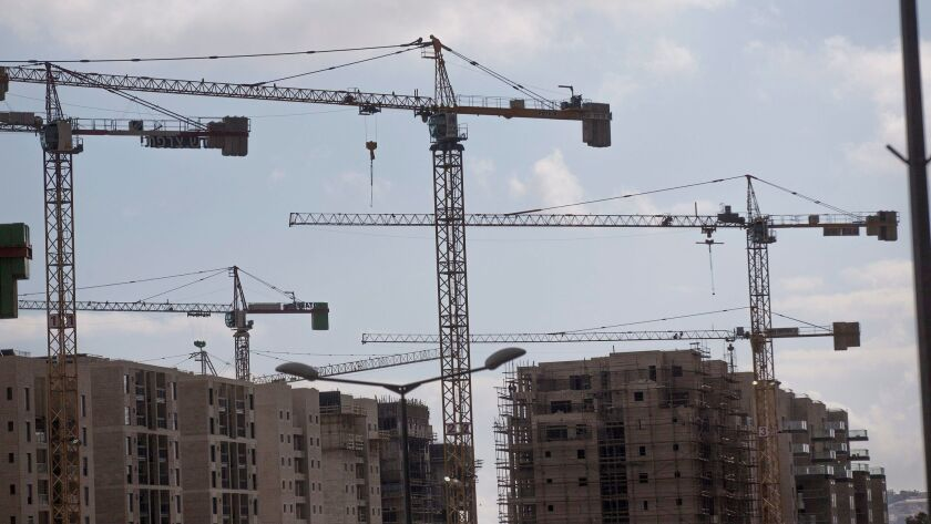 Israeli settlement constructions in Jerusalem