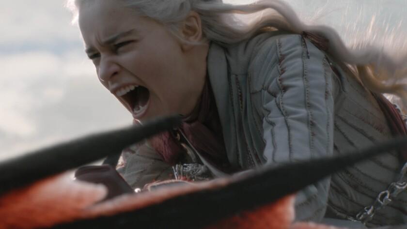 "Emilia Clarke in Season 8, episode 4 (debut 5/5/19, ""Game of Thrones."" :photo: HBO"