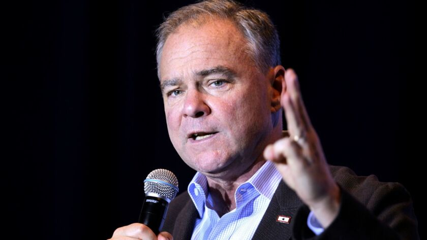 Virginia's powerful delegation of defense advocates includes Tim Kaine, the recent vice presidential candidate and a member of the Senate Armed Services Committee.