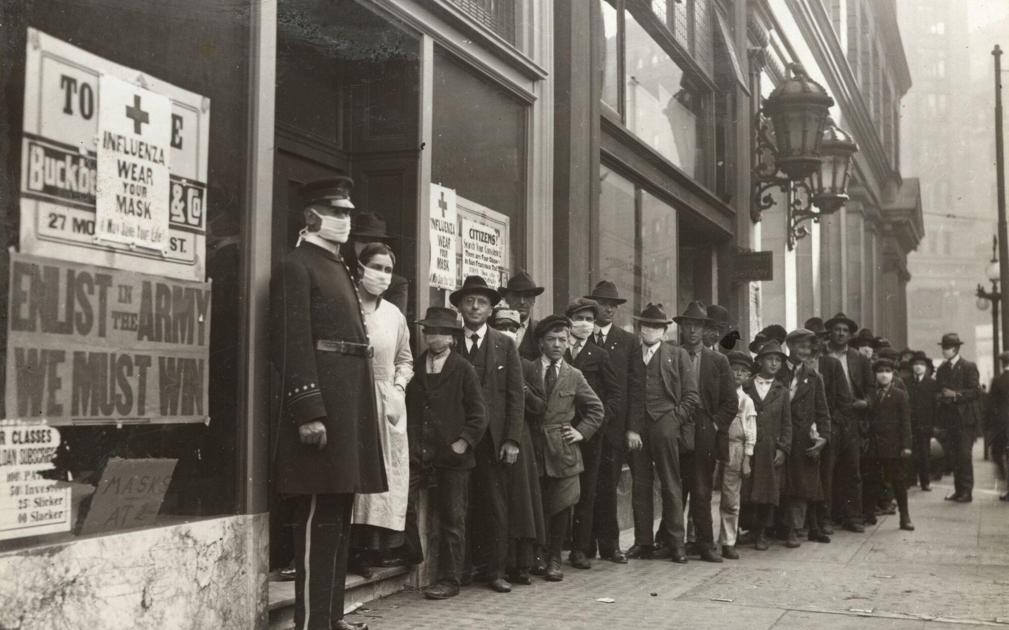 California Coronavirus Lessons From The 1918 Spanish Flu Los Angeles Times