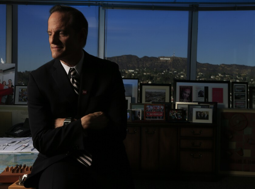 Michael Weinstein is president of the AIDS Healthcare Foundation, which has been pushing for the city of Los Angeles to have its own health commission.