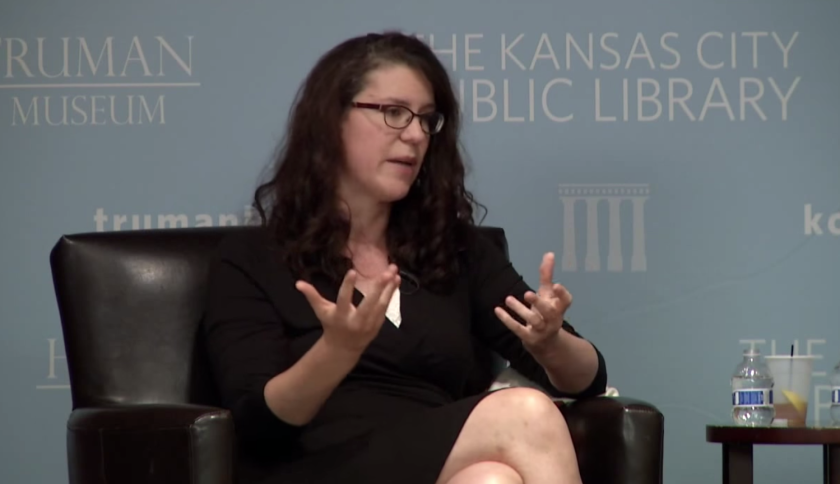 Bloomberg's Megan McArdle, at a 2013 panel discussion on the economy.