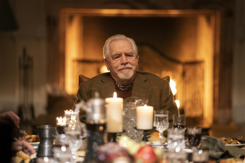 """Brian Cox stars in the HBO drama """"Succession,"""" which figures to be a force at this year's Emmys."""
