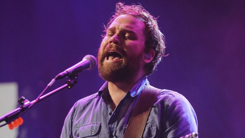 FILE - In this file photo dated Sept. 22, 2012, showing Scott Hutchison, frontman singer of Scottish