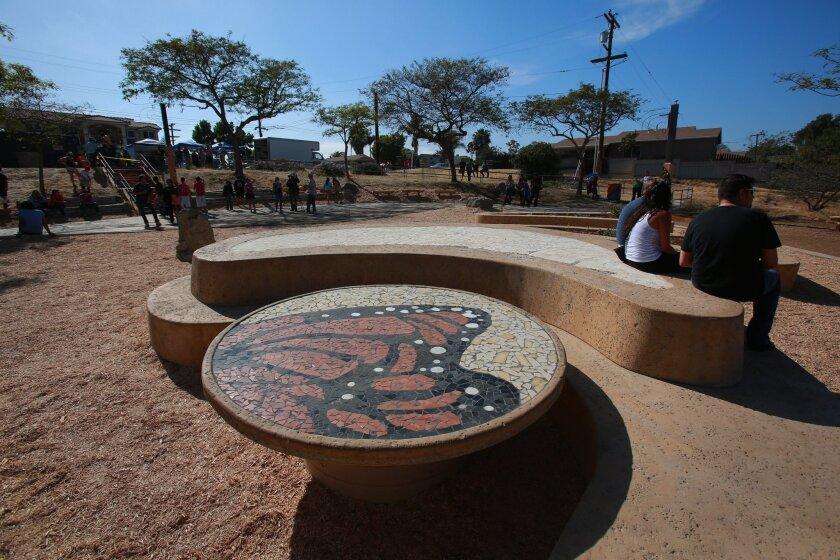 National City's Butterfly Park. [U-T file]