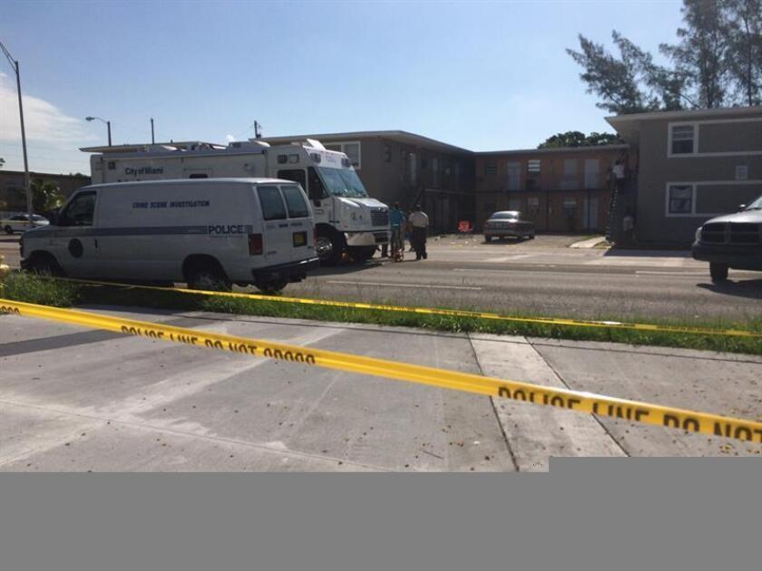 Un hombre afro-estadounidense murió hoy por disparos de agentes de la policía en un incidente todavía no aclarado en West Perrine, al suroeste de Miami, en el condado de Miami Dade, informaron medios locales. EFE/ARCHIVO
