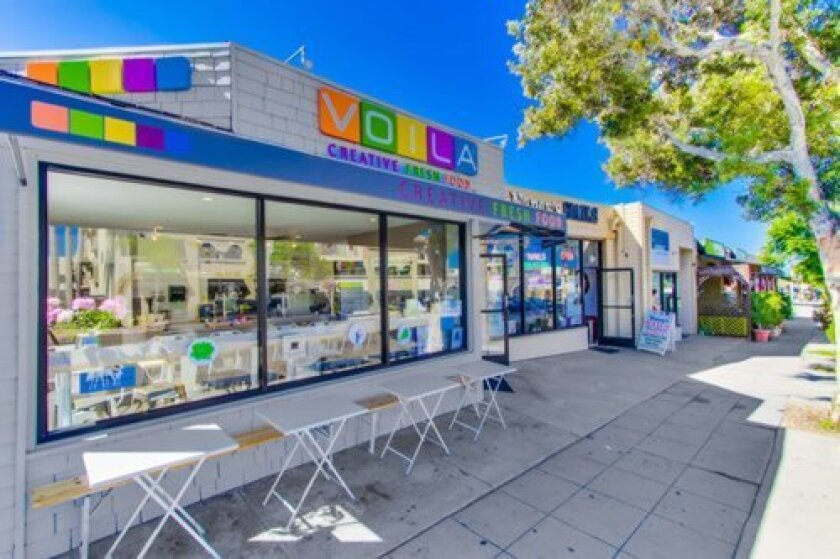 Voila is located at 723 Pearl St. in La Jolla. Direct inquiries to (858) 729-0969 and voilalajolla.com