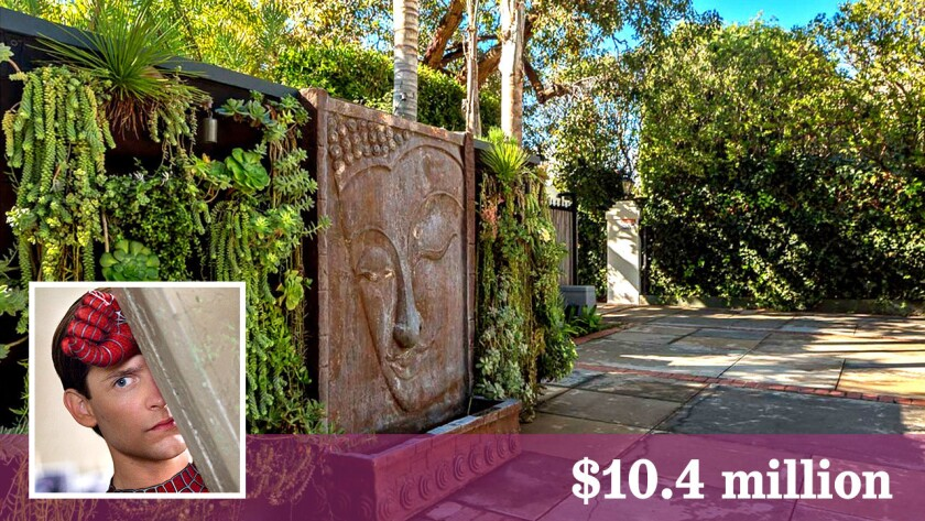 Tobey Maguire has sold his house in Brentwood for $10.4 million.