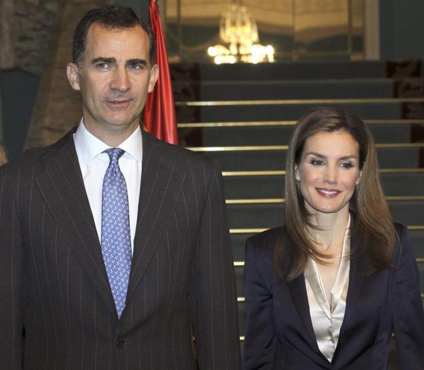 Los reyes Felipe IV y Letizia. EFE/Archivo