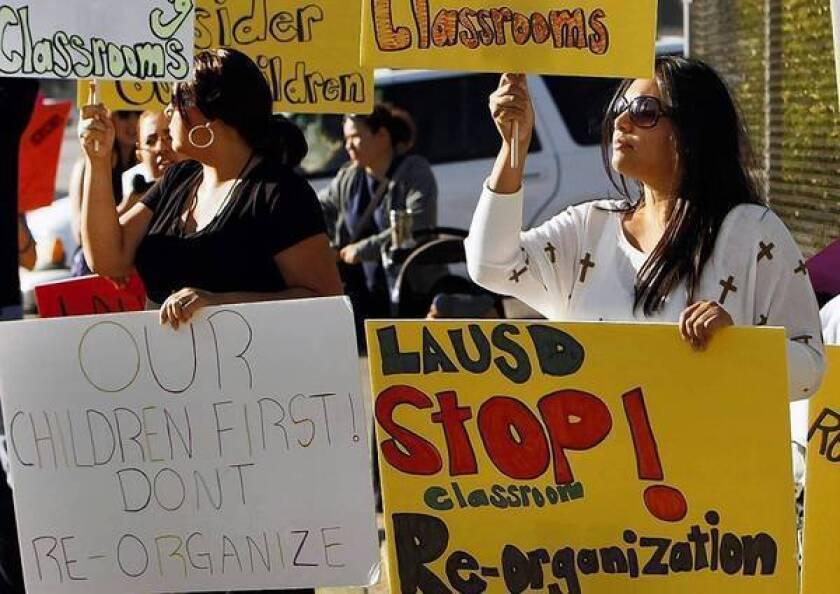 L.A. Unified's English learner action upsets parents, teachers