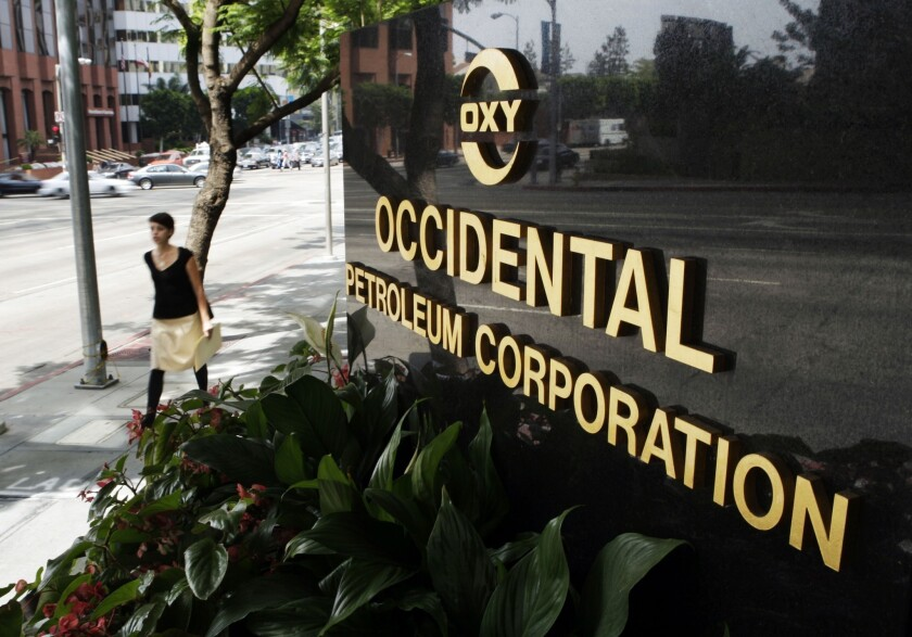 Occidental Petroleum to spin off California assets, move to Houston