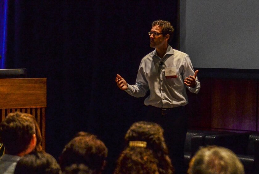 Paul DePodesta, vice president of player development for the New York Mets, spoke at the mHealth conference in La Jolla Thursday.