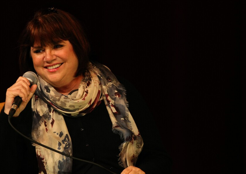 "Linda Ronstadt, shown during a question-and-answer session on Tuesday in Santa Monica about her new book ""Simple Dreams,"" says that industry awards were never the reason she became a singer."